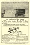 1910 WAVERLEY Electric Let Us Prove The Value THE WAVERLEY COMPANY Indianapolis, IND MUNSEY'S MAGAZINE – ADVERTISING SECTION 1910 6.25″x9.25″ page 69