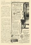 1910 9 10 WAVERLEY Electric Electric Shaft Drive The WAVERLEY Company Indianapolis, IND THE LITERARY DIGEST Sept 10, 1910 8.25″x11.5″ page 403