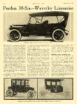 1911 9 21 WAVERLEY Electric New Waverley Electric Limousine The Waverley Co. Indianapolis, IND MOTOR AGE September 21, 1911 8.5″x12″ page 46
