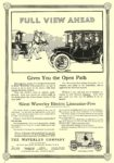 1912 1 6 WAVERLEY Electric FULL VIEW AHEAD THE WAVERLEY CO. Indianapolis, IND COLLIER'S January 6, 1912 10″x14.5″ page 4