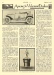 1912 9 12 WAVERLEY Electric Sheltered Roadster, Model 90 THE WAVERLEY COMPANY Indianapolis, IND MOTOR AGE September 12, 1912 8.5″x12″ page 46