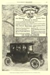 1912 WAVERLEY Electric An Electric Every Man is Proud to Drive THE WAVERLEY COMPANY Indianapolis, IND EVERYBODY'S MAGAZINE 1912 6.5″x9.75″ page 31