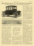 1915 10 8 WAVERLEY Electric Many Refinements in 1915 Waverley The Waverley Co. Indianapolis, IND MOTOR AGE October 8, 1914 8.5″x12″ page 30