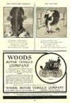 1900 6 WOODS Electric WOODS MOTOR VEHICLE COMPANY Chicago, ILL SCRIBNER'S MAGAZINE June 1900 6.75″x9.5″ page 53