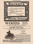 1900 WOODS Motor Vehicle Company WOODS Electric STANHOPE The Cosmopolitan 6.5″x9.25″