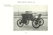 ca. 1903 WOODS Woods Motor Vehicle Co. CHICAGO & NEW YORK ELECTRIC CARRIAGES GAME TRAP – Style No. 268 7.75″5.25″ folded page 6