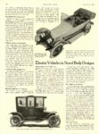 1914 1 29 WOODS Electric Electric Vehicles in Novel Designs Woods Motor Vehicle Company Chicago, ILL MOTOR AGE January 29, 1914 8.5″x11.75″ page 16