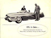 x1952 ca GM Le Sabre bro B
