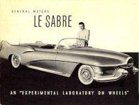 x1952 ca GM Le Sabre bro F