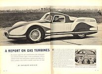 x1955 Turbocar ART Auto Yearbook p 64 65