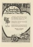 "1915 1 25 SCHEBLER ""George Schebler Was Pioneering with a 12 Cylinder Carburetor 7 years ago"" Wheeler-Schebler Indianapolis, Indiana MOTOR AGE page 58"