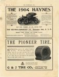 1904 7 13 HAYNES HAYNES-APPERSON See Our Exhibit at St. Louis Fair Haynes-Apperson Co. Kokomo, Indiana THE HORSELESS AGE page VII