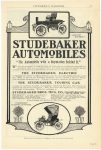 "1904 STUDEBAKER The STUDEBAKER ""THE AUTOMOBILE WITH A REPUTATION BEHIND IT Studebaker Bros. Mfg. Co. South Bend, Indiana EVERYBODY'S MAGAZINE page 57"