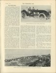 1905 2 1 The Florida Races ARTHUR McDONALD IN SIX CYLINDER NAPIER RACER THE HORSELESS AGE U of MN Library 8.75″x11.5″ page 173