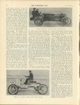 1905 2 1 The Florida Races WALTER CHRISTIE IN 60 HORSE POWER CHRISTIE RACER WEBB JAY IN STRIPPED 15 HORSE POWER WHITE STEAMER THE HORSELESS AGE U of MN Library 8.75″x11.5″ page 176