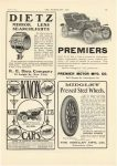 1905 4 12 PREMIER PREMIER stand for all that is best in automobile construction Premier Motor Mfg. Company Indianapolis, Indiana THE HORSELESS AGE April 12, 1905 page 19