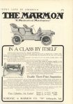 1906 3 MARMON THE MARMON IN A CLASS BY ITSELF Nordyke & Marmon Company Indianapolis, Indiana Country Life in America March, 1906 page 585