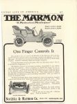 1906 5 MARMON The Marmon One Finger Controls it Nordyke & Marmon Company Indianapolis, Indiana Country Life in America page 117