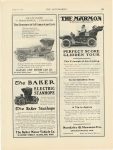 1906 8 16 MARMON THE MARMON PERFECT SCORE GLIDDEN TOUR Nordyke & Marmon Company Indianapolis, Indiana THE AUTOMOBILE August 16, 1906 page 65