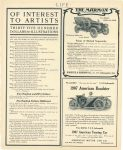 """1907 """"AMERICAN"""" Roadster """"NO NOISE BUT THE WIND"""" AMERICAN MOTOR CAR CO 910 State Life Building Indianapolis IND LIFE page 75"""