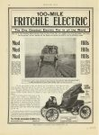 1908 11 19 FRITCHLE Electric The One Greatest Electric Car in all the World page 102