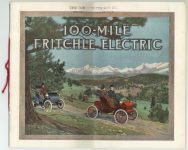 1908 100-MILE FRITCHLE ELECTRIC Front cover