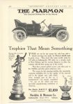 1910 4 MARMON Trophies That Mean Something Nordyke & Marmon Company Indianapolis, Indiana Country Life in America April, 1910 page 786