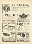 "1910 8 10 PREMIER PREMIER ""THE PROVEN CAR"" Premier Motor Mfg. Co. Indianapolis, Indiana THE HORSELESS AGE August 10, 1910 Vol 26 No 6 page 32"