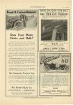 1910 5 11 PREST-O-LITE Prest-O-Carbon Remover Does Your Motor Choke and Balk? Prest-O-Lite Co. Indianapolis, Indiana THE HORSELESS AGE May 11, 1910 Vol. 25 No. 19 page 36