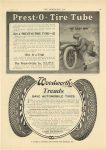 """1910 6 8 PREST-O-LITE Prest-O-Tire Tube """"The Easy Way"""" Prest-O-Lite Co. Indianapolis, Indiana THE HORSELESS AGE June 8, 1910 page 23"""