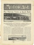 1911 6 1 Indy 500 Ray Harroun Victor in Speed Battle MOTOR AGE page 1