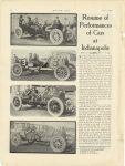 1911 6 1 Indy 500 REsume of Performances of Cars at Indianapolis MOTOR AGE page 8
