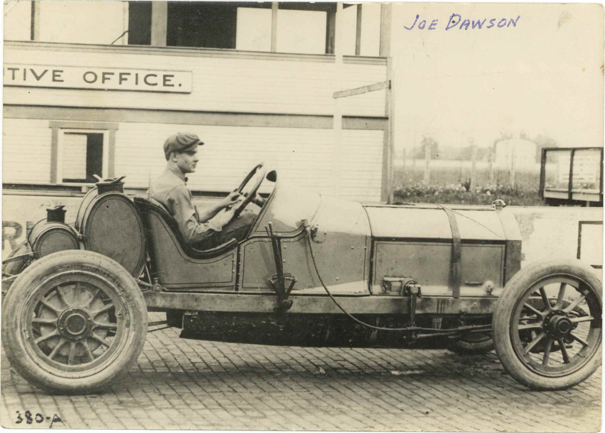 1911 Joe Dawson MARMON Indy 500 racer front - Chuck's Toyland