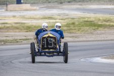 2016 4 1911 NATIONAL Speedway Roadster Car No. 19 CDT driving with Brody Blain, mechanician VARA Buttonwillow, CAL April