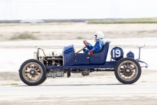 2016 4 1911 NATIONAL Speedway Roadster Car No. 19 CDT driving with Bob, mechanician VARA Buttonwillow, CAL April