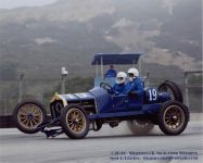 2016 8 20 1911 NATIONAL Speedway Roadster Car No. 19 HMSA Monterey Historics Mazda Raceway Laguna Seca, CAL Turn 11 August 2