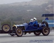 2016 8 20 1911 NATIONAL Speedway Roadster Car No. 19 HMSA Monterey Historics Mazda Raceway Laguna Seca, CAL Turn 11 August 3