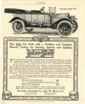 """1912 3 7 INTER-STATE The only Car Built with a Faultless and Complete Electric System for Starting, Ignition, and Lighting Inter-State Model """"40"""" Inter-State Automobile Co. Muncie, Indiana LIFE March 7, 1912"""