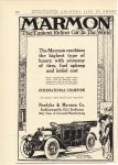 1912 3 1 MARMON The Marmon combines the highest type if luxury with economy of tires fuel upkeep and initial cost Nordyke & Marmon Company Indianapolis, Indiana Country Life in America March 1, 1912 page 100