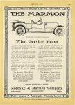 1913 1 30 MARMON THE MARMON What Service Means Nordyke & Marmon Company Indianapolis, Indiana MOTOR AGE January 30, 1913 page A57
