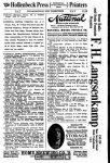 1913 National Motor Car Directory
