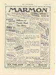 "1914 12 31 MARMON MARMON MODEL ""41"" Publicity Nordyke & Marmon Company Indianapolis, Indiana THE AUTOMOBILE December 31, 1914 page 170"
