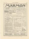 "1914 12 31 MARMON MARMON MODEL ""41"" Publicity Nordyke & Marmon Company Indianapolis, Indiana THE AUTOMOBILE December 31, 1914 page 171"