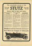 1914 2 5 STUTZ The remarkable success of the STUTZ Square deal to user and dealer Stutz Motor Car Co. Indianapolis, Indiana MOTOR AGE February 5, 1914 page 62