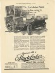 1915 2 27 STUDEBAKER Built COMPLETE in Studebaker Plants – from the fist casting to the finished car The Studebaker Corporation South Bend, Indiana The Literary Digest February 27, 1915 page 449