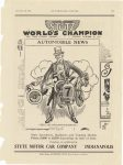 1915 11 20 STUTZ WORLD'S CHAMPIONS Stutz Speedsters, Roadsters and Touring Models Prices $200 to $2550 depending on style of body Stutz Motor Car Co. Indianapolis, Indiana AUTOMOBILE TOPICS November 20, 1915 page 155