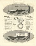 1916 10 21 Two cars in one – both for on price Cole-Springfield Body COLE MOTOR CAR COMPANY, INDIANAPOLIS U.S.A. THE SATURDAY EVENING POST page 39