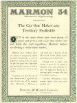 1917 11 3 MARMON MARMON 34 Advanced Engineering – The Car that Makes any Territory Profitable Nordyke & Marmon Company Indianapolis, Indiana November 3, 1917