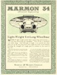 1917 11 3 MARMON MARMON 34 Advanced Engineering Light Weight Yet Long Wheelbase Nordyke & Marmon Company Indianapolis, Indiana November 3, 1917