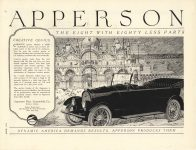 1920 4 APPERSON Bros. Automobile Co. Kokomo IND page 27